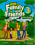 کتاب Family and Friends 3
