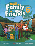 کتاب Family and Friends 6